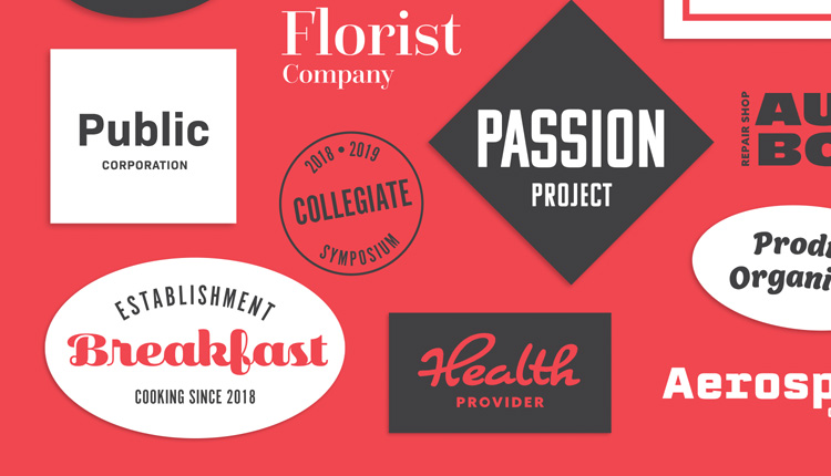 Browse fonts in the Logo-Worthy Letters font pack | Adobe