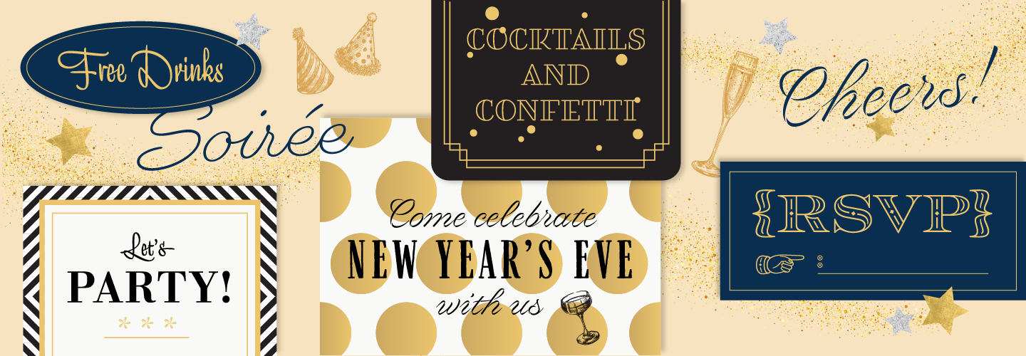 Browse fonts in the Holiday Party Pack font pack | Adobe