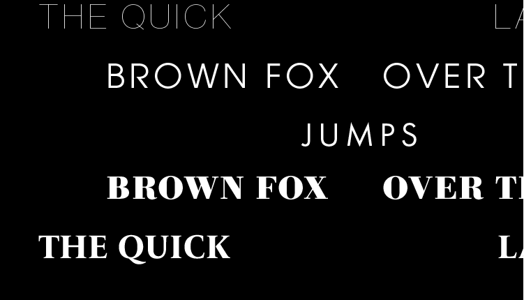 Browse fonts in the Productivity Infographics Pack font pack