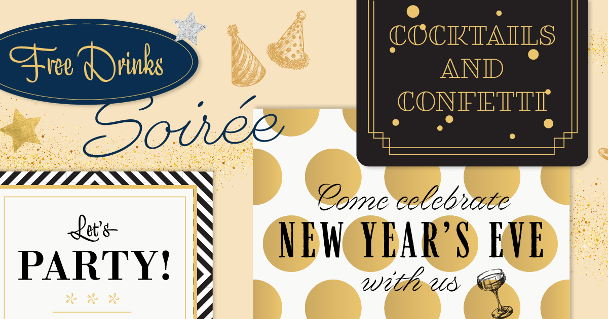 Download Browse fonts in the Holiday Party Pack font pack | Adobe ...