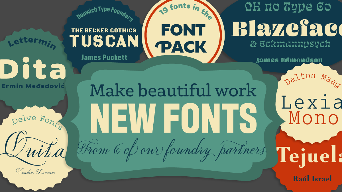 Browse Font Packs | Adobe Fonts
