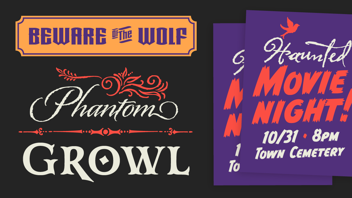 Browse fonts in the Monster Pack font pack | Adobe Fonts