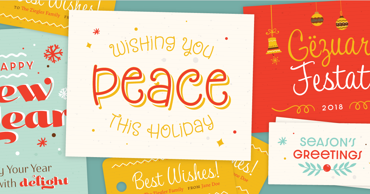 Download Browse fonts in the Jolly Holiday Pack font pack | Adobe ...